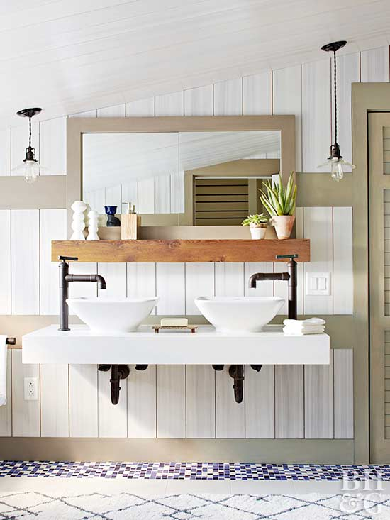 Half Wall Wood Paneling: Eco-Friendly Farmhouse Makeover