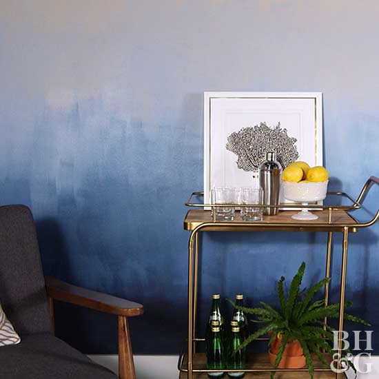 Bhg Storage Magazine: Transform Your Walls With A DIY Ombre Paint Treatment