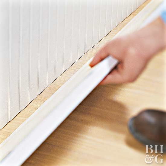 How To Install Beaded Board