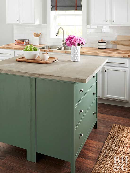 Diy Kitchen Island how to make a kitchen island