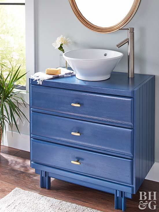 Dresser Turned Bathroom Vanity Tutorial: How To Turn An Old Dresser Into A Beautiful Bathroom Vanity
