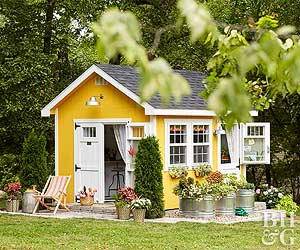 Build The She Shed Of Your Dreams