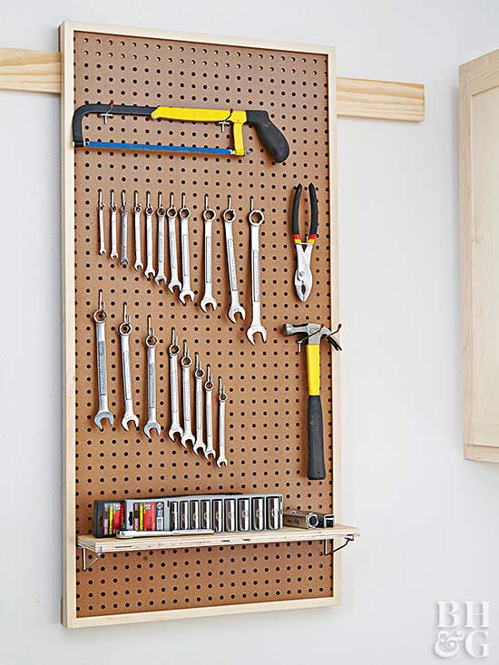 bulletin board tools Garage Storage
