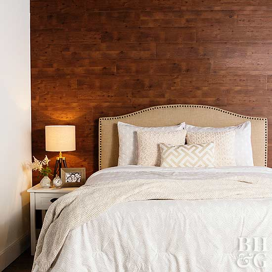 Peel And Stick Plank Flooring For Accent Wall: Accent Wood Wall