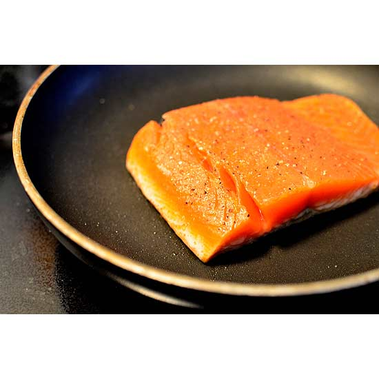 how to cook sockeye salmon with skin