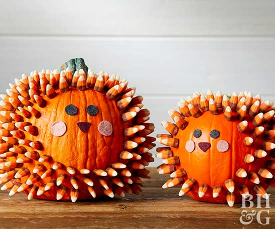 easy no carve halloween pumpkins - Halloween Pumpkin Designs Without Carving