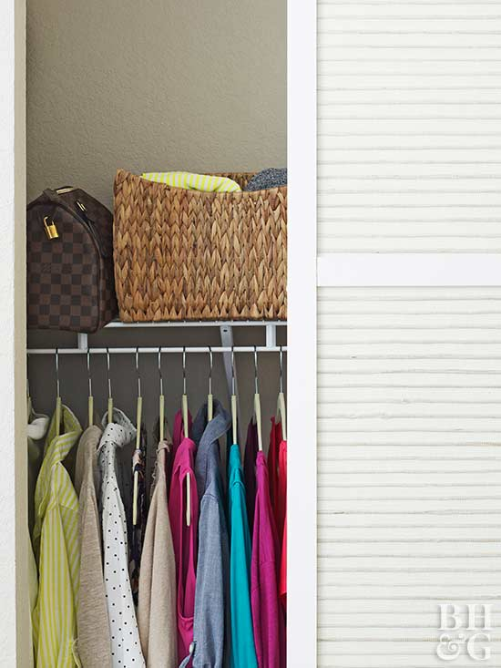 Even The Slightest Sliver Of Closet Space Can Produce Major Storage Results  When You Think Creatively. Maximize Your Small Closet Organization  Techniques By ...