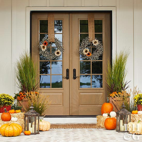 How To Decorate Your Front Door For Fall