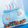 Fishbowl Birthday Cake
