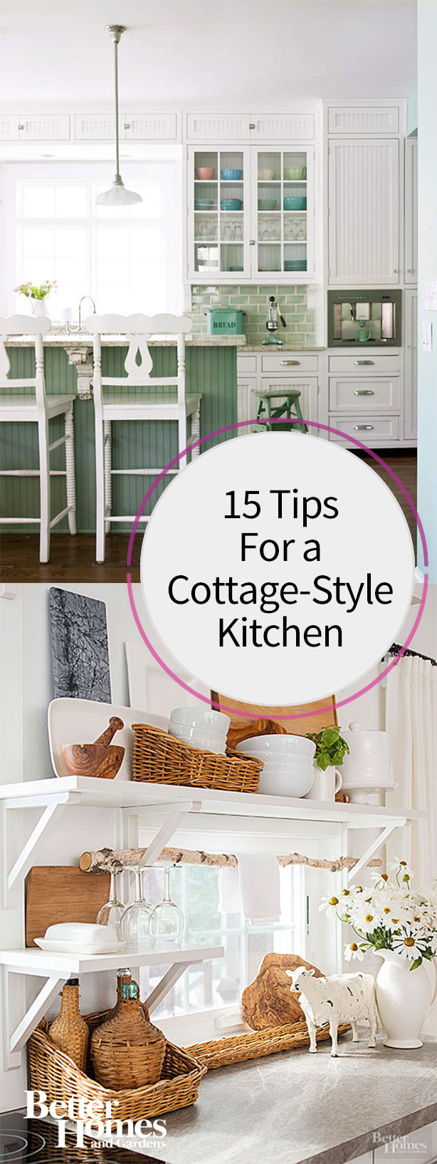 Design tips: cottage style decorating