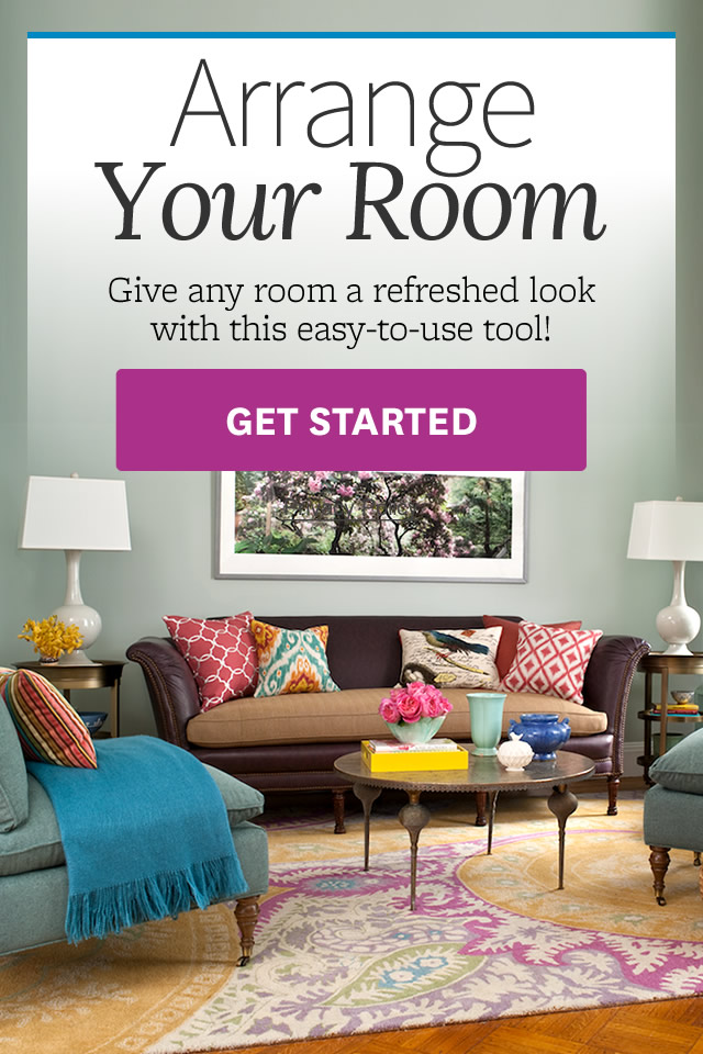 Arrange A Room - better homes and gardens design tool