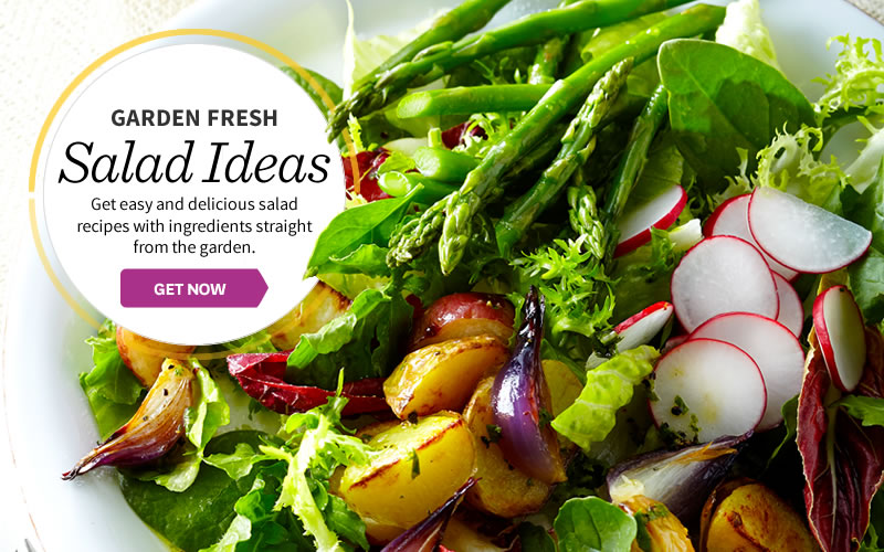 Simple Garden Fresh Salads