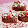 Heart-Shaped Brownie Bites