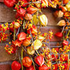 Warm-Colored Fall Wreath