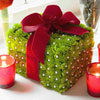 Decorative Red and Green Gift