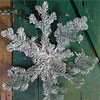 Frosted Snowflake Decoration