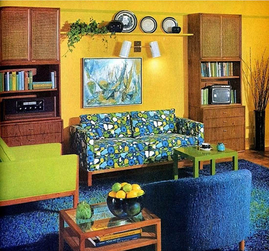 Marvelous 9 Sleek Living Room Designs That Will Remind You Of The 70s