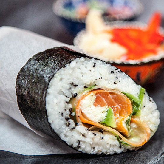 This Sushi Burrito is The Best Thing to Ever Happen to Sushi