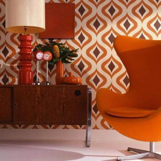 9 Sleek Living Room Designs That WIll Remind You of the '70s