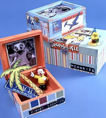 Kids' Keepsake Boxes