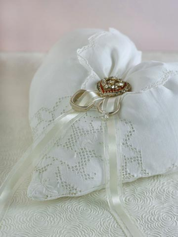 Ring Bearer Handkerchief Pillow