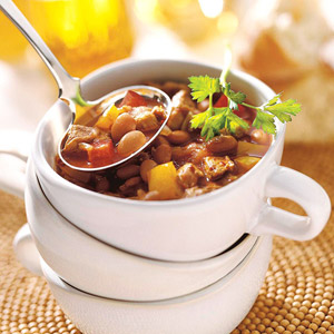 Chunky Chipotle Pork Chili