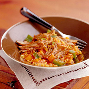 Brown Rice Risotto with Lamb