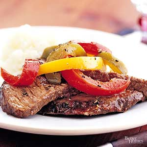 Cajun Pot Roast with Sweet Peppers