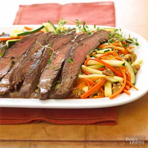 Flank Steak Bordelaise