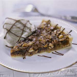 Nut and Chocolate Chip Tart