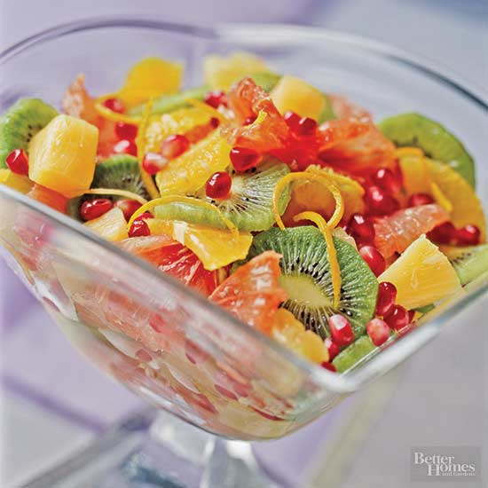 Minted Fruit Compote