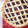 Lattice-Top Cranberry Relish Pie