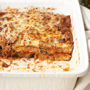 Eggplant and Beef Casserole
