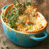 Salmon Pot Pie