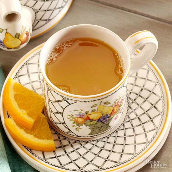 Orange and Spice Tea