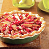 Fresh Pear and Cranberry Pie
