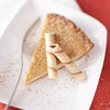 Spiked Eggnog Custard Pie