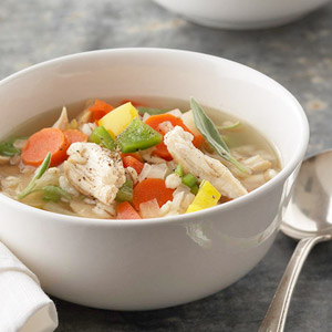 Barley-Vegetable Chicken Soup