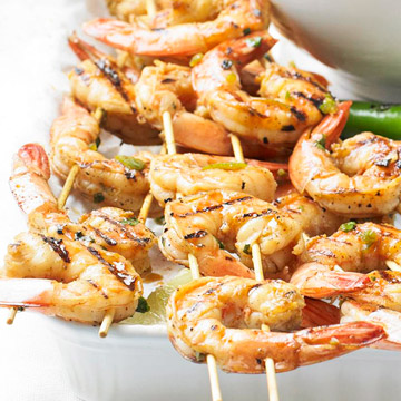 Grilled Shrimp Recipes + Tips