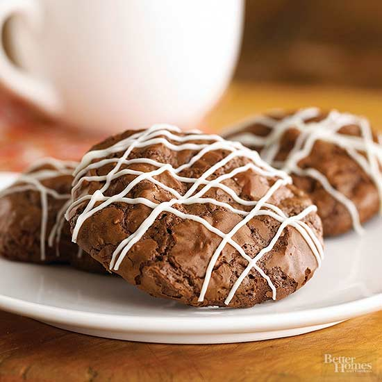 Chocolate Coffee Liqueur Cookies