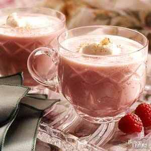 Berry Eggnog Punch