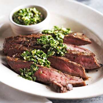 Watch: Grilled Steak with Chimichurri