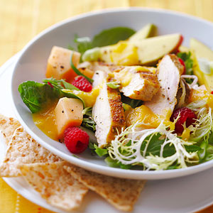 Chicken Salad with Mango Vinaigrette