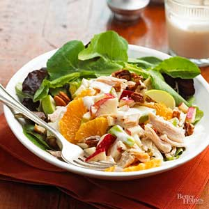 Crunchy Chicken and Fruit Salad