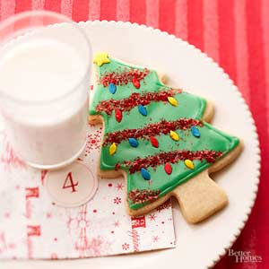 Christmas Tree Butter Cookies