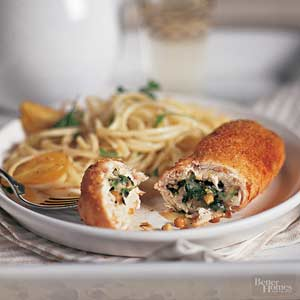 Chicken Stuffed with Smoked Mozzarella