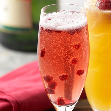 Bubbly Champagne Cocktails
