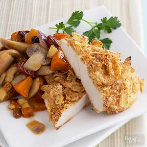Whole Grain Chicken with Harvest Fruits and Veggies