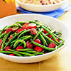 Pesto Green Beans & Tomatoes