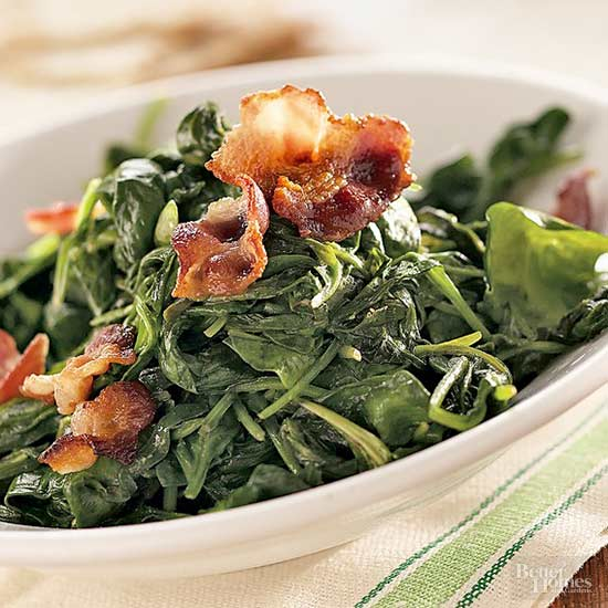 sauteed spinach recipes